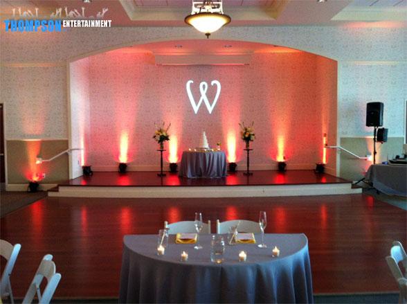 wedding lighting gobo