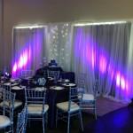Crane Creek Meeting Center Melbourne FL Wedding Lighting