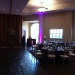Crane Creek Meeting Center Melbourne FL Wedding Lighting and DJ