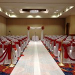 Orlando Airport Marriott Wedding Ceremony