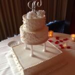 Orlando Airport Marriott Wedding Cake