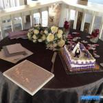 paradise cove wedding cake