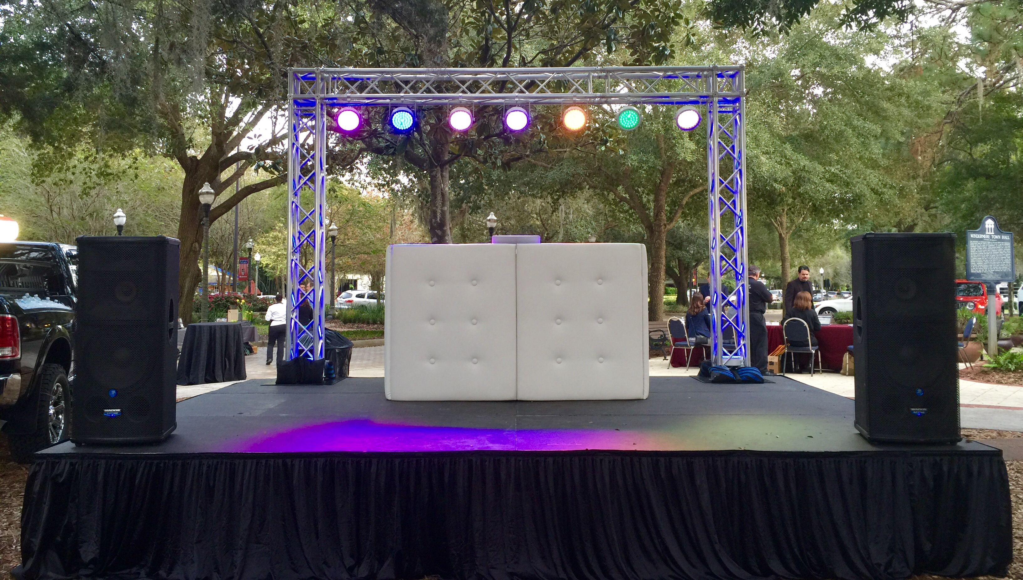 board combo light with dj image detailed complete packages cables htm stage american package chauvet truss dmx led lighting portable